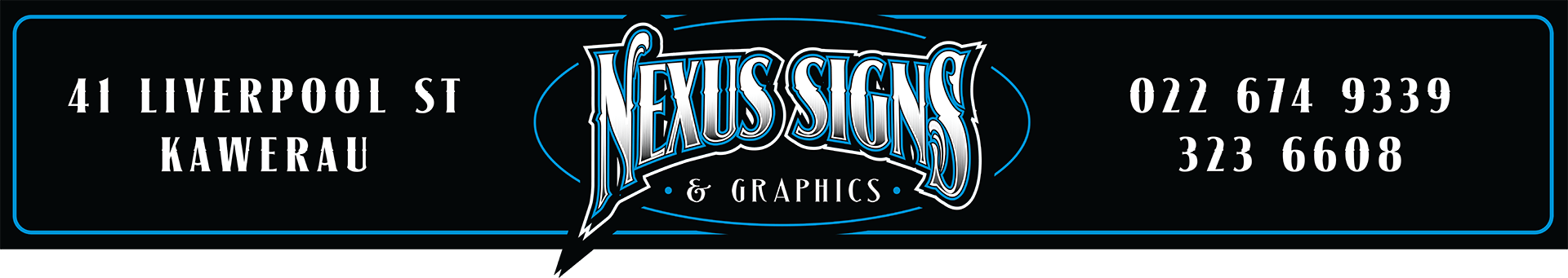 Nexus Signs Kawerau Whakatane For All Your signage needs